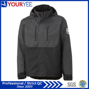 Practically Fashion Two Tone Polyester Insulation Waterproof Coats (YFS113)