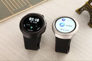 3G Streamlined New Design WiFi Smart Watch with Heart Rate Monitor
