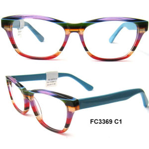 Causal Colorful Optical Frame Glasses for Unisex pictures & photos