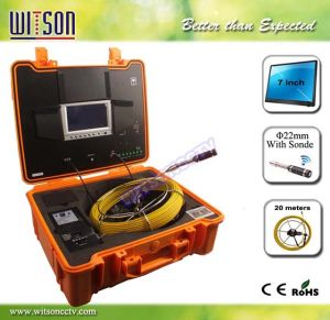 Witson Pipe Inspection Camera with Built-in Transmitter Sonde (W3-CMP3188DN-T) pictures & photos
