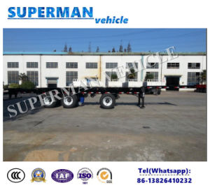 Special Utility Skeletal Frame Container Semi Truck Trailer for Cargo pictures & photos