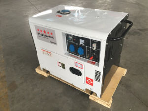 Portable Diesel Silent Generator 5.0kVA pictures & photos