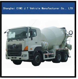 Hino Concrete Mixer Truck 6X4 pictures & photos