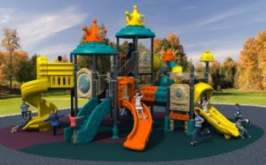 New Design Outdoor Playground Children Slide Park Equipment pictures & photos