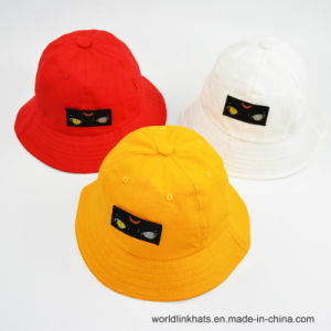 China Wholesale Plain Cotton Applique Enbroidery Bucket Cap Fashion ... f3b7195677f