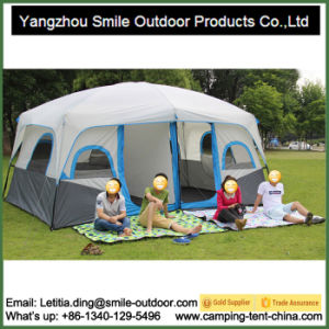 8-10 Persons 2 Room House Camping Custom 6X6 Canopy Tent pictures & photos