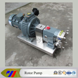 Sanitary Stainless Steel High Pressure Cam Rotor Pump pictures & photos