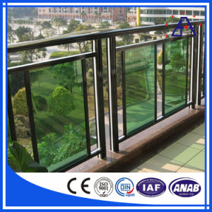 Brilliance Anodized 6063-T5 Aluminum/Aluminium Balcony Fence pictures & photos