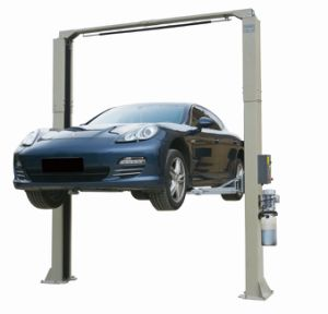 8213 3.6t Clear Floor Two Post Lift Hydraulic Car Hoist for Motorcycle Automobile Vehicles, Garage, Workshop Repair