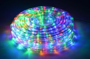 China 10m Led Rope Light Outdoor Project Decoration Waterproof Lighting Lights