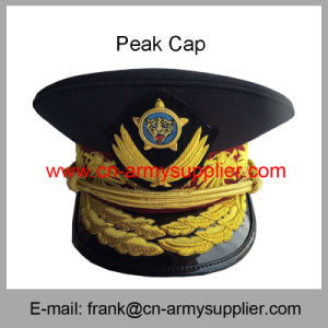 a30c748fe941d Wholesale Cheap China Military Golden Metal Badge Police Army Cap ...