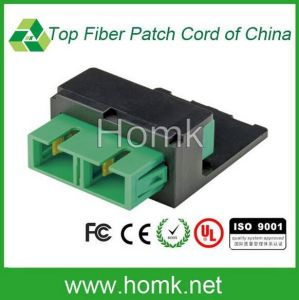 OS1/OS2 Duplex Foa Fiber Optical Adapter