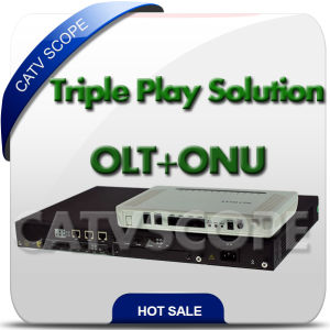 Triple Play Network Gepon Olt ONU Ont