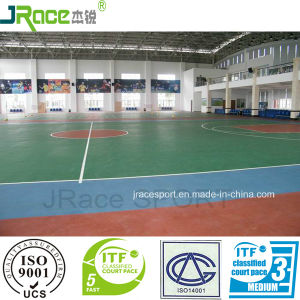 Green Material Indoor Sports Flooring for Sale pictures & photos