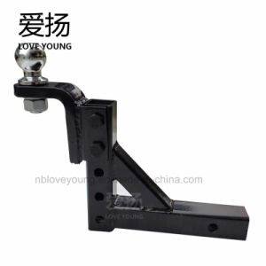 Adjustable Tow Hitch >> Adjustable Towing Parts Steel Heavy Duty Hitch Receiver Connector Ball Mount