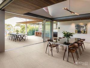 Kitchen Flooring Wooden Tile On Floor