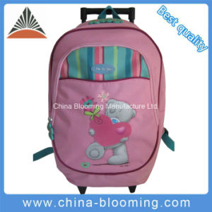 Kids Trolley Wheeled Luggage Bag School Student Backpack pictures & photos