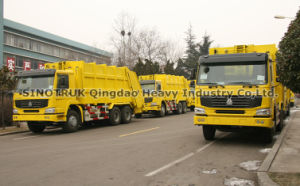 Garbage Compactor Truck (ZZ3257N3847A) pictures & photos