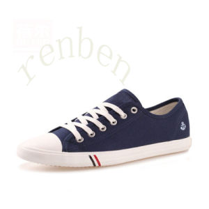 New Arriving Hot Men′s Classic Canvas Shoes pictures & photos