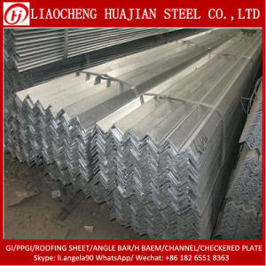 Hot Rolled Steel Angle Bar with Hot Dipped Galvanized pictures & photos