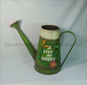 Watering Can with Butterfly Design