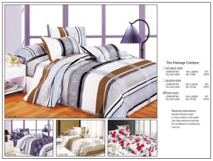 3PCS Reactive Printed Printing Cotton Bedding Set