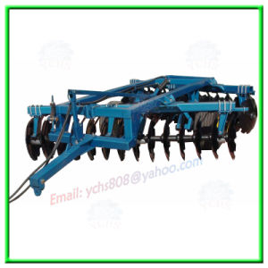 Farm Implement Hydraulic Offset Heavy Disc Harrow Mounted Yto Tractor pictures & photos
