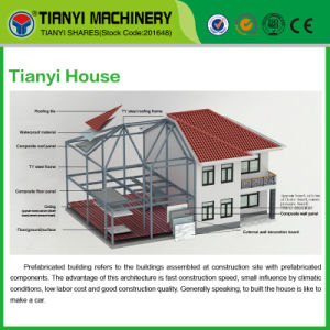 Tianyi Concrete Prefabricated House pictures & photos