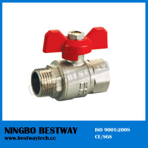 Forged Brass Butterfly Ball Valve (BW-B16) pictures & photos