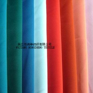 Polyester Brushed Peach Skin Fabric for Coat