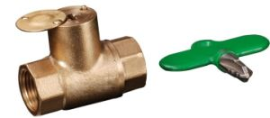 Brass Ball Valve with Lock (YED-A1039)