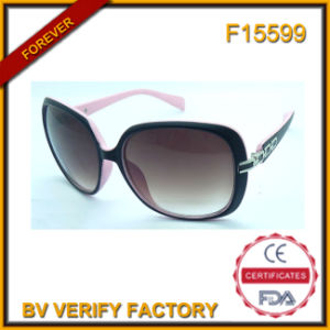 F15599 Italy Brand Big Frame Fashionable Women Sunglasses pictures & photos