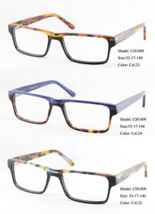 8222636b39 Top Brand Europe and American Two Tone Acetate Designer Eyeglasses Frames