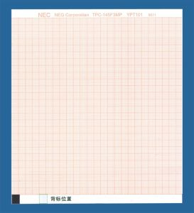 12 Channel ECG Paper for Japan Futian Nec 3321, 3330, 3370-144mmx125mm-200p pictures & photos