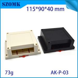 ABS Plastic Din Rail Enclosure 125x90x71.2mm Terminal Case PCB Project Box