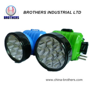 LED Plastic Rechargeable Headlamp (BH-673)