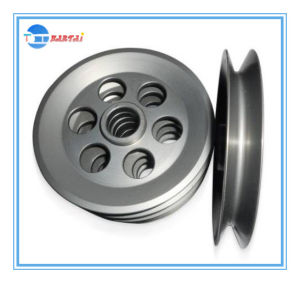 Textile Machinery Die Casting Ceramic Coating Aluminum Pulley