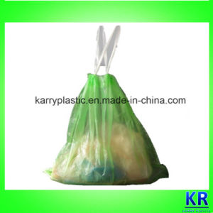 HDPE Garbage Bag with Drawtape, Plastic Refuse Sack pictures & photos