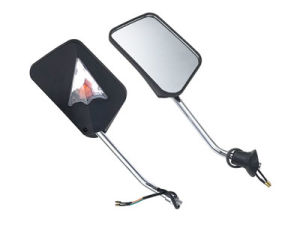 Motorcycle Round Side Mirror with High Clarity, Motorcycle Body Parts (JT-VM-10)