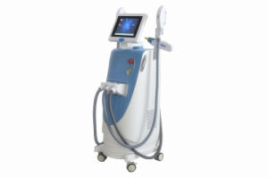2016 New Vertical Opt+Shr+Q Switch Laser Tattoo Removal Hair Removal Beauty Equipment