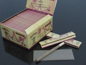 110*45mm Slim 50 Booklets Unbleached Organic Tobacco Rolling Papers (ES-RP-044) pictures & photos