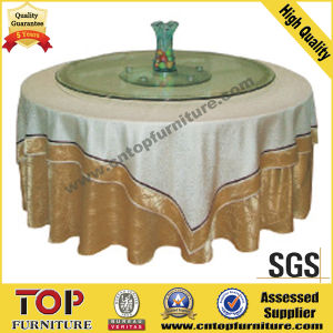 Nice Round Banquet Table Cloth pictures & photos