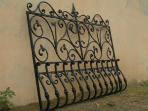 China Wrought Iron Window Grill Design China Wrought