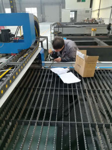 Water Cooling Fiber Laser Cutting Machine pictures & photos