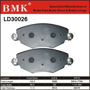 Environment Friendly Brake Pads (LD30026) pictures & photos