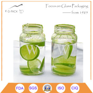 Glass Mason Jar for Ice Cream Purpose pictures & photos