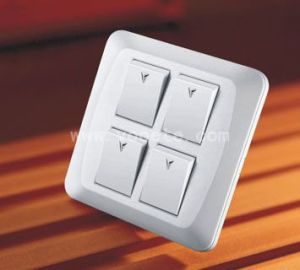 Spray Painting 4 Gang Wall Switch Vot D 04