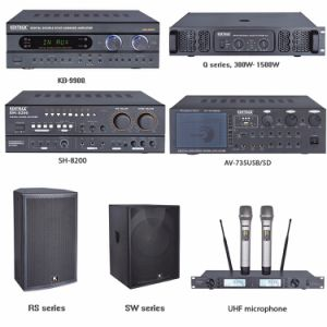 KTV Power Sound Box Karaoke System Amplifier with Equalizer pictures & photos