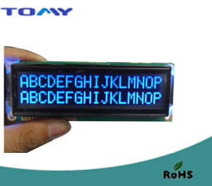 16X2 Va Liquid Crystal Display/Screen with Y-G LED Backlight