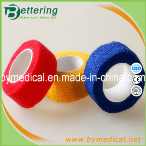 Finger Cohesive Bandage 2.5cm Various Colours pictures & photos